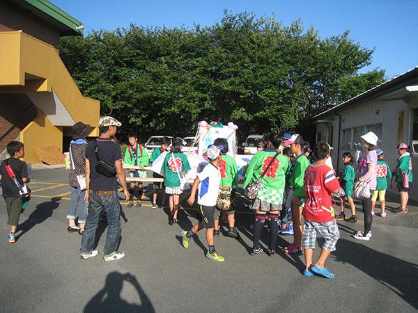 新栄町夏祭り子どもみこし